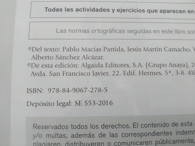 Libro de literatura universal de 1° de bachillerat