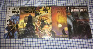 Cómics StarWars: N1, N2, N3, N4 y N1