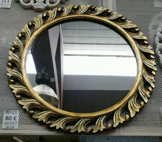 Espejo redondo 80cm
