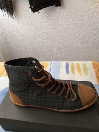 Zapatillas altas de pull bear