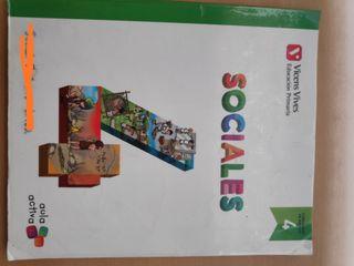 Libro Sociales cuarto primaria