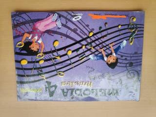 Libro de Música cuarto de primaria