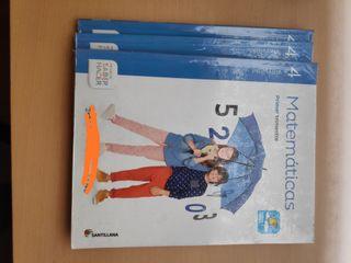 Libro de matemáticas cuarto primaria
