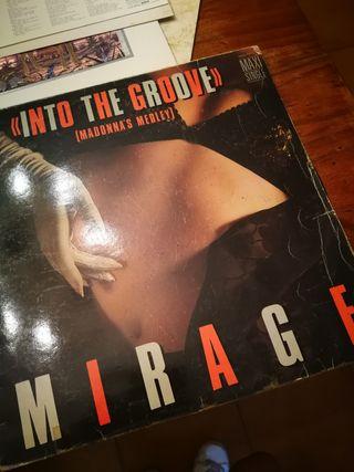 disco vinilo años 80.Madonna