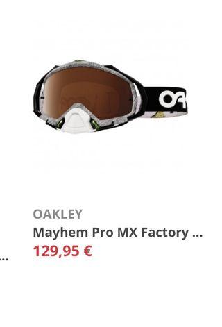 Gafas enduro cross oakley Mayhem Pro MX ktm