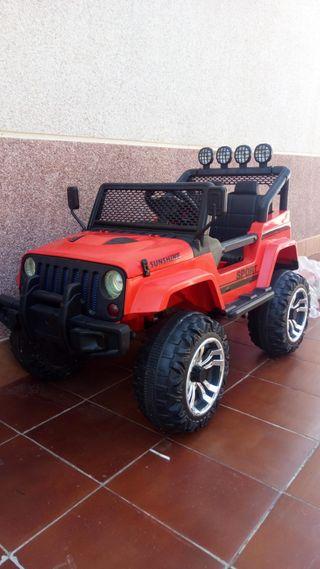 Coche batería jeep