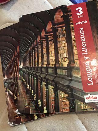 Libros lengua y literatura 3 eso