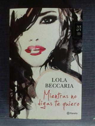Libro Mientras no digas te quiero