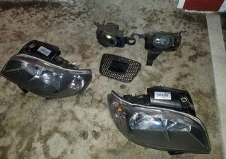 phares de voitures