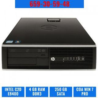 ORDENADOR PC HP ELITE 8000 SFF C2D