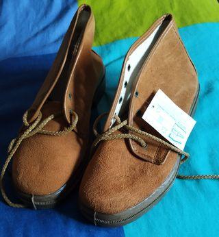 Zapatos nuevos suela de caucho