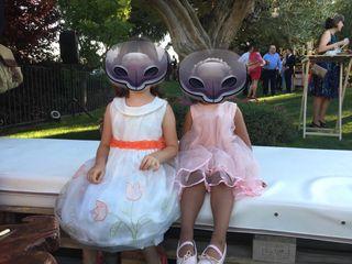 Vestido fiesta niña 4-5 años