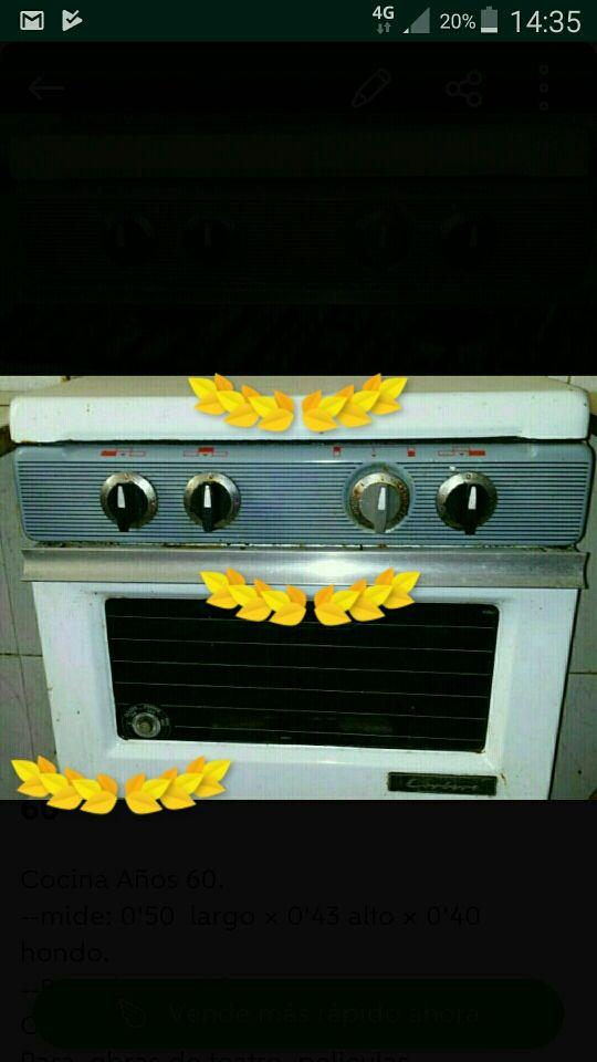 Cocina CORBERO - vintage- años 60