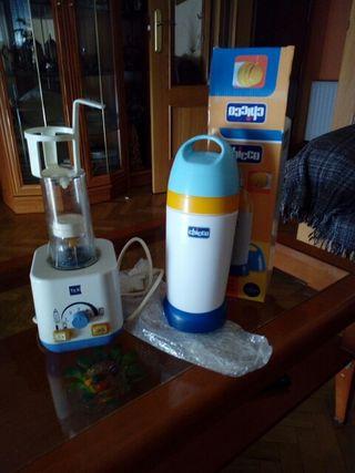 Esterilizador calienta biberones y termo para bibe