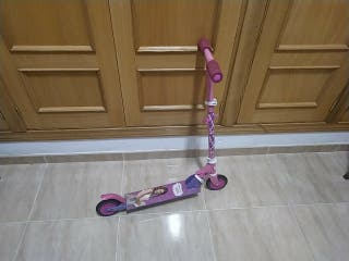 Patinete rosa