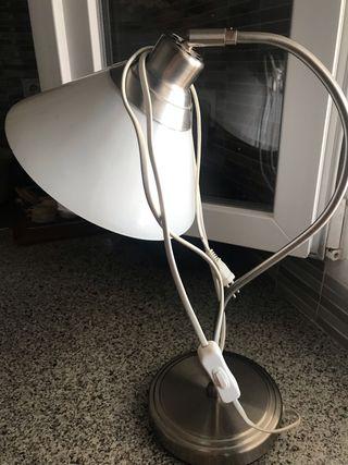 Lámpara de Cristal de mesita de noche