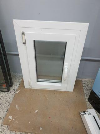 ventana de aluminio y vidrio cámara puente térmico