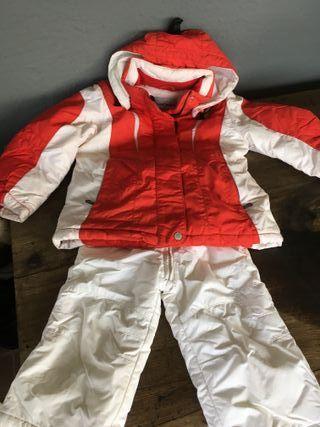 Conjunto Anorak-pantalón de esquiar CaCao Talla P