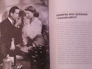 Película clásica Casablanca de Bogart y Bergman