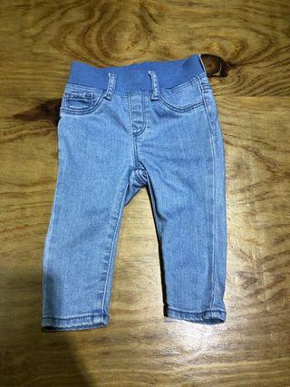6-12 meses Pantalón GAP, ropa bebé niño niña