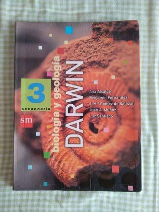 libro de biología y geología Darwin SM