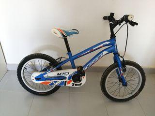 "Bicicleta Megamo 16"" Niño Azul"