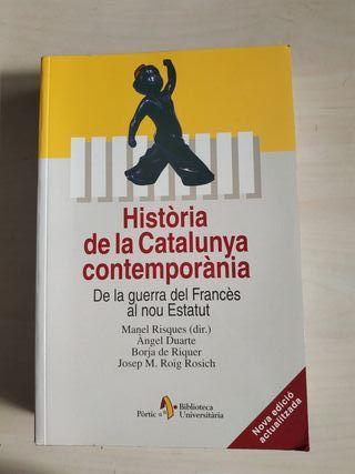 História de la Catalunya Contemporánea