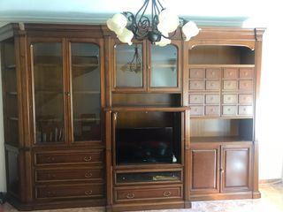 Mueble salón madera maciza Cerezo