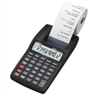 calculadora casio con mini impresora