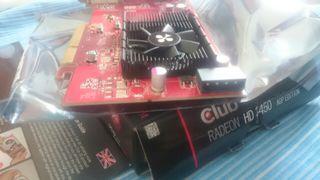 Tarjeta gráfica AGP ATI RADEON HD 3450