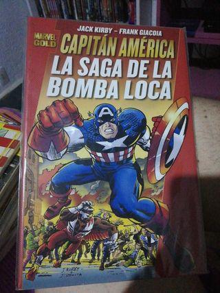 Tomo CAPITÁN AMÉRICA La saga de la bomba loca