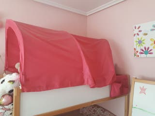 Dorsel rosa cama kura
