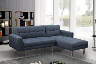 Sofá-cama chaise-longue *205x150cm [KM-16040XS]