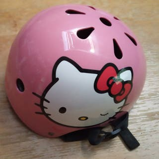 Casco de bicicleta Hello Kitty
