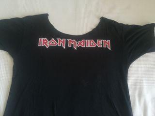 """camiseta """"iron maiden"""""""