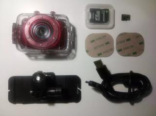 Actioncam Rollei Youngstar + Soporte casco +SD 2GB
