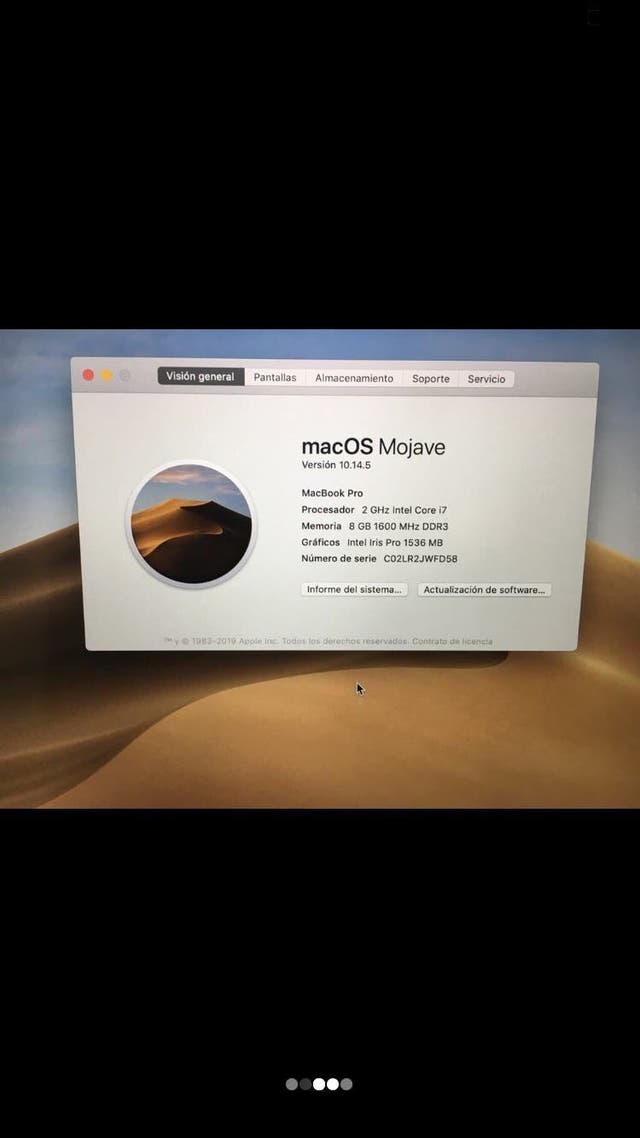 MacBook Pro SEMINUEVO IMPECABLE