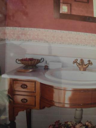 Mueble de baño con lavabo