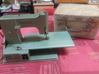 máquina coser antigua eléctrica Phoenix