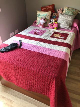 Cama de 105 con colchón