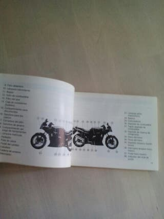 Manual Kawasaki gpz500s