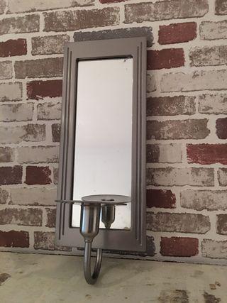 Espejo Porta vela colgante ikea