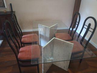 Conjunto mesas comedor-salon