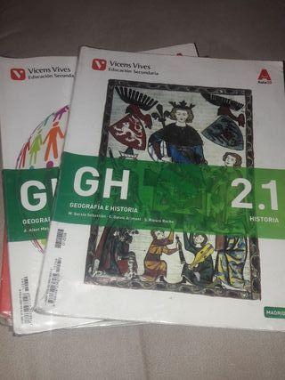 Libros Geografía e Historia