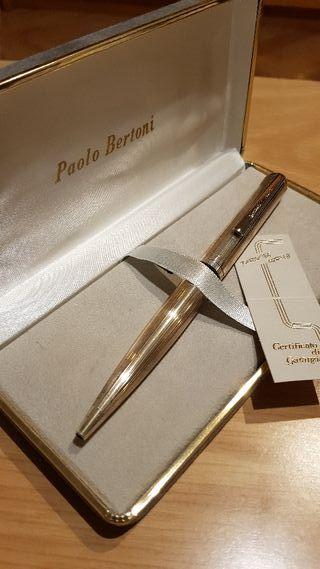 Bolígrafo de Plata Ferrari & Baier