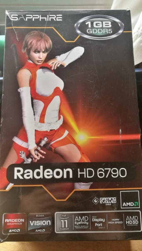 tarjeta grafica radeon hd 6790