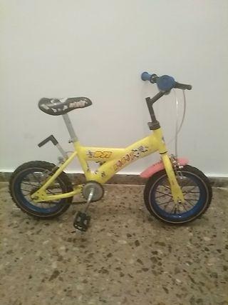 """bicicleta niño/niña 14"""""""