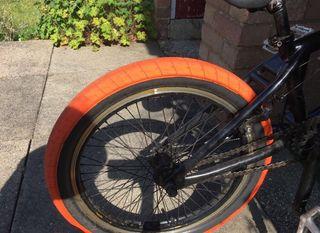 BMX stunt bike