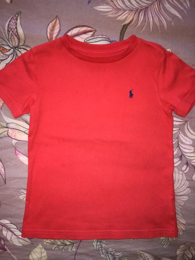 Camiseta Ralph Lauren talla 4/4T