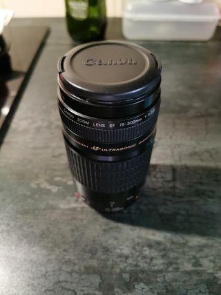 Objetivo Canon 75-300 1:4-5.6 Ultrasonic
